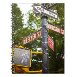 Street Signs 2 Note Book