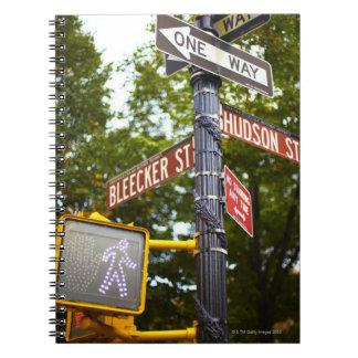 Street Signs 2 Notebook