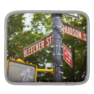 Street Signs 2 Sleeve For iPads