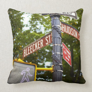Street Signs 2 Throw Pillow