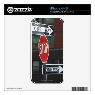 Street Signs Skin For The iPhone 4S