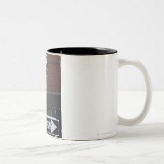 Street Signs Two-Tone Coffee Mug