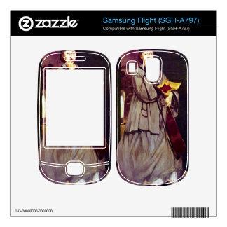 Street singer by Edouard Manet Samsung Flight Decals