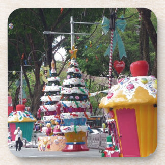 Street size Christmas decorations Drink Coasters