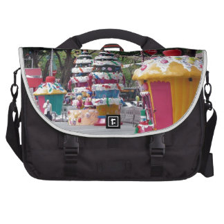 Street size Christmas decorations Laptop Bags