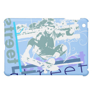 Street Skateboarding Blue  iPad Mini Cases