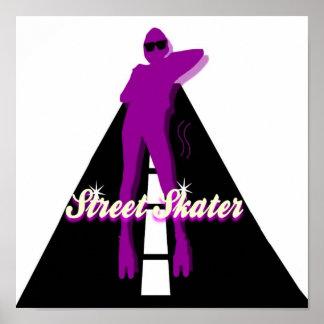 STREET SKATER POSTER
