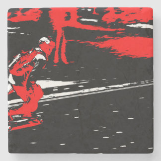 Street Skater  -  Skateboarder Stone Coaster