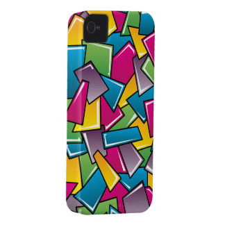 Street Squares iPhone 4 Case-Mate Cases