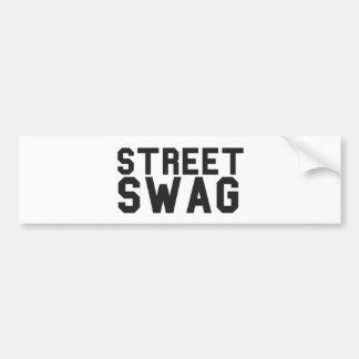 Street Swag Bumper Sticker