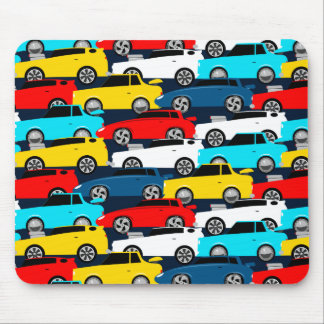 Street traffic mouse pad