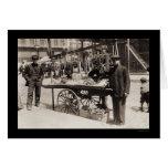 Street Vendor Italian Feast 1908 Cards