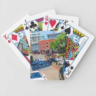 Street view Boston City USA America Bus Tour Bicycle Playing Cards