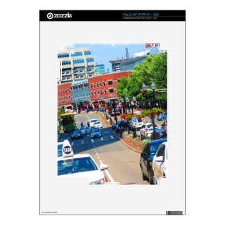 Street view Boston City USA America Bus Tour Skins For The iPad 2