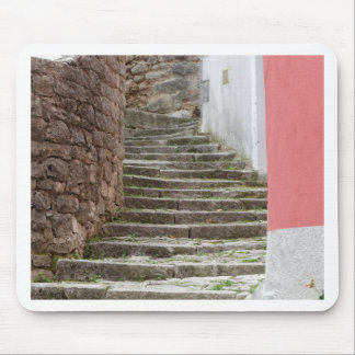Street view in the old city Labin in Istria, Croat Mouse Pad
