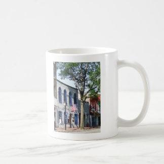 Street With American Flag Alexandria VA Coffee Mug