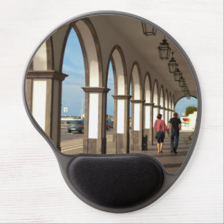 Street with arches gel mouse pad
