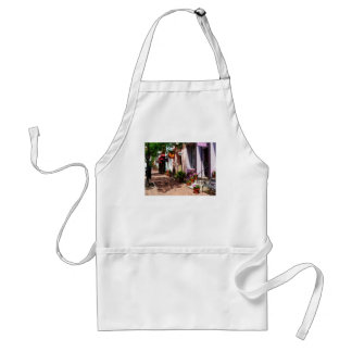 Street With Art Gallery and Tobacconist Alexandria Adult Apron