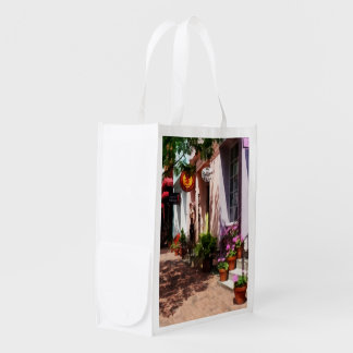 Street With Art Gallery and Tobacconist Alexandria Grocery Bag