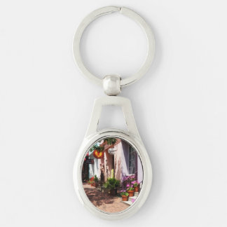 Street With Art Gallery and Tobacconist Alexandria Keychain