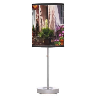 Street With Art Gallery and Tobacconist Alexandria Table Lamp