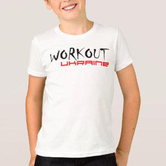Street Workout Anywhere. Ukraine. T-Shirt