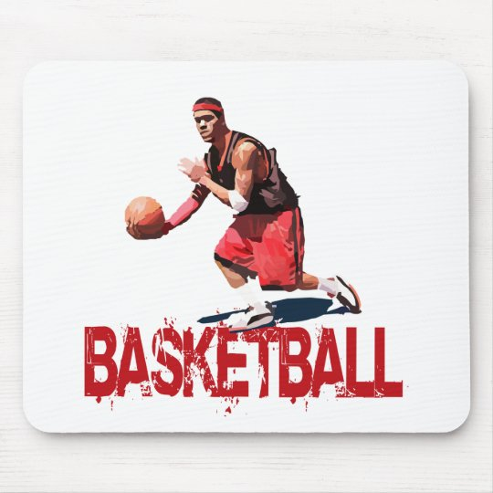 Streetball Dribble Mouse Pad