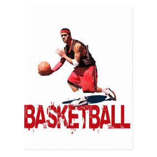 Streetball Dribble Postcard