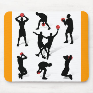 streetball-players mouse pad