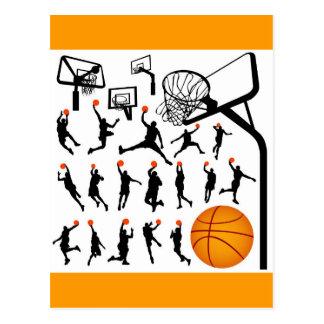streetball postcard