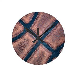 Streetball Round Clock