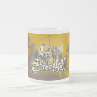 Streetball Tshirts and Gifts Frosted Glass Coffee Mug
