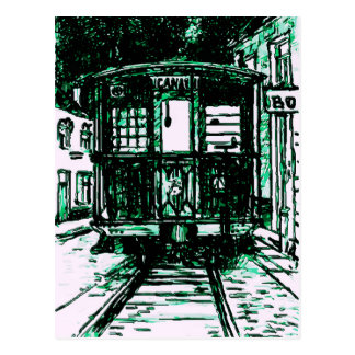 Streetcar In New Orleans Postcard