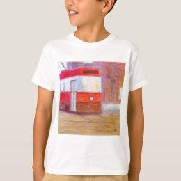 Streetcar, Kid's T-Shirt/Shirt T-Shirt