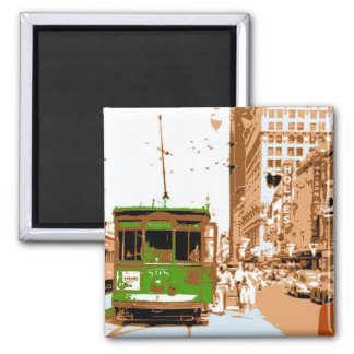 Streetcar Named Desire 2 Inch Square Magnet