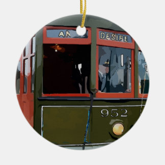 Streetcar Named Desire Ceramic Ornament