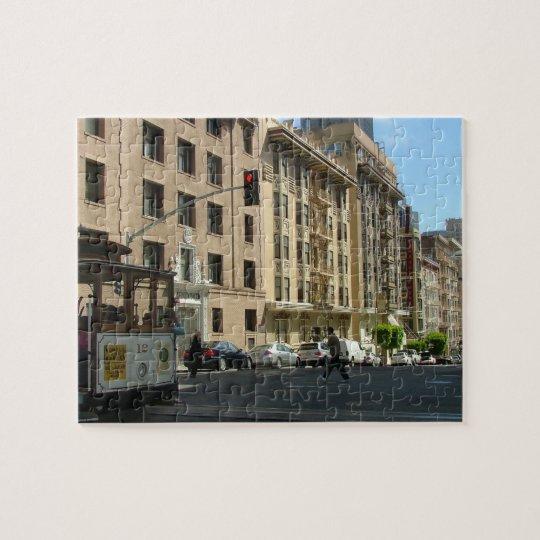 Streetcar of San Francisco Jigsaw Puzzle