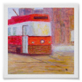 Streetcar, Poster/Print on Paper or Canvas Poster