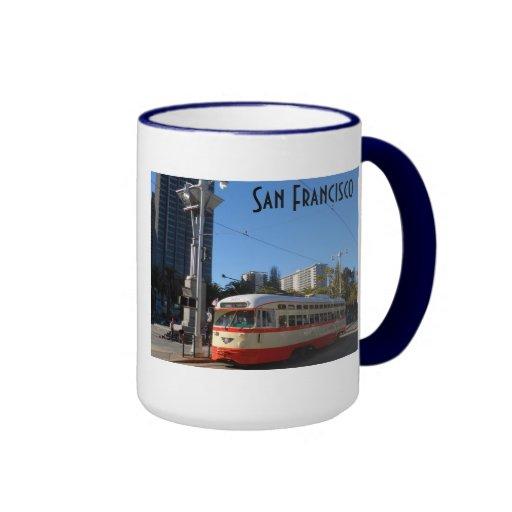 Streetcar- San Francisco Coffee Mugs