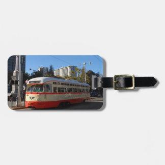 Streetcar- San Francisco Tags For Luggage
