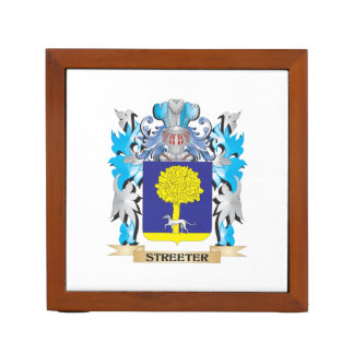 Streeter Coat of Arms - Family Crest Pencil Holder