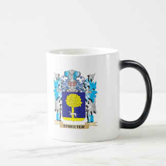 Streeter Coat of Arms - Family Crest 11 Oz Magic Heat Color-Changing Coffee Mug