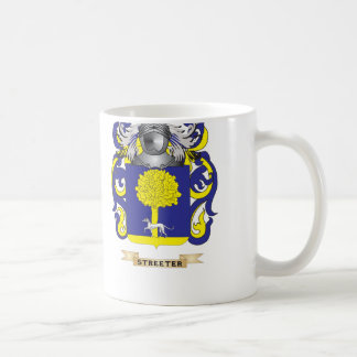 Streeter Coat of Arms (Family Crest) Classic White Coffee Mug