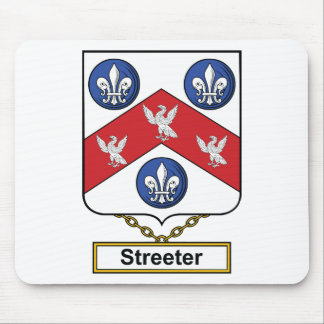 Streeter Family Crest Mouse Pad