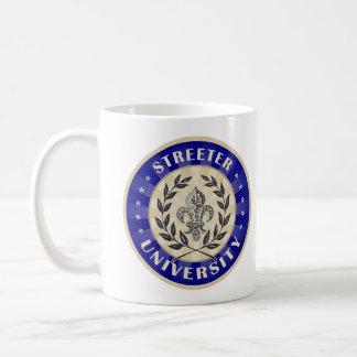 Streeter University Navy Coffee Mug