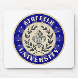 Streeter University Navy Mouse Pad