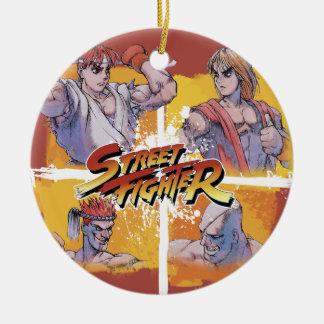 StreetFighter Ryu Vs Ken & Adon Vs Sagat ornament