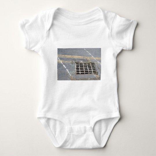 StreetGrating051609 Baby Bodysuit