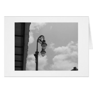 Streetlamp Stationery Note Card