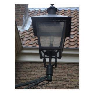 Streetlight, Delft Postcard